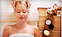 Massage and Body Treatments at Sally Plink Hair Facials Massage (Up to 63% Off). Three Options Available.