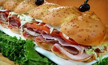 Delivered Sandwiches and Entrees from Kilroy's Sandwich Factory (Up to 56% Off). Two Options Available.