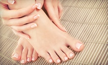 One or Three Spa Mani-Pedis or Gel Manicure and Spa Pedicure with Paraffin at Academy of Nail Technology (Up to 53% Off)