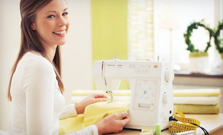 $19 for an Introduction to Sewing Class and 10% Off Purchases at Quality Sewing &amp; Vacuum ($49.99 Value)