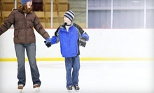 Ice Skating with Skate Rentals for 2, 4, or 10 at ICE at The Parks in Arlington (Up to 55% Off)