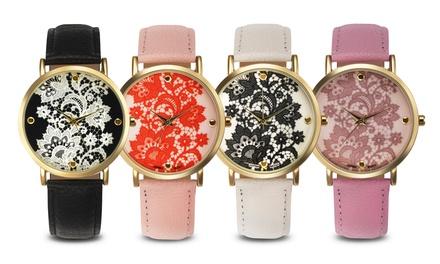 Rousseau Lace Ladies' Watch