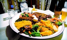 Ethiopian Food for Two or Four at Red Sea Restaurant & Bar (Up to 52% Off)