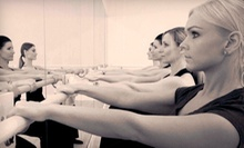 One, Two, or Three Months of Unlimited Barre or Tabata TRX Classes at The Barre Studio (Up to 87% Off)