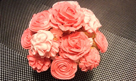 One Dozen Cupcakes or Macarons from Sharons Florist & Patisserie (53% Off)