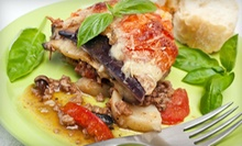 Mediterranean Cuisine for Two or Four at Nefeli Caffe (Up to 53% Off)
