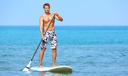 $15 for 90-Minute Stand-Up Paddleboard or Kayak Session at Crown Cove Aquatic Center ($30 Value)