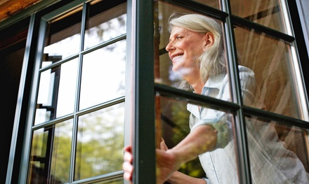 Window Cleaning for 25 Windows, or Gutter Cleaning from Metro Wide Cleaning (51% Off)