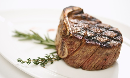 Steakhouse Lunch or Dinner for Two or Four or More at The Raymond (Up to 50% Off)
