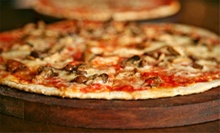 Pizza at John Dough's Pizza Bar (Up to 56% Off). Two Options Available.
