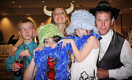 Two-, Three-, or Four-Hour Photo-Booth Rental from One Stop Photo Booths (Up to 55% Off)