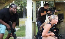 Two or Four Games of iCombat Laser Tag for Two at Battleground Orlando Laser Tag (Up to 55% Off)