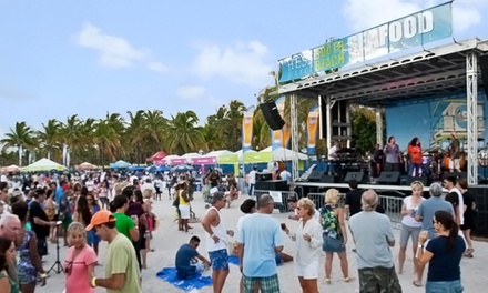 SOBE Seafood Festival for Two or Four at Lummus Park on Saturday, October 25 (Up to 51% Off)
