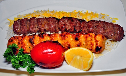 $69 for a Prix Fixe Middle Eastern and Persian Meal for Two at Arya Global Cuisine (Up to $115 Value)