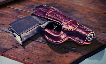 10-Hour Texas Concealed Handgun License Course for One, Two, or Four at CHL-Training.com (Up to 60% Off)