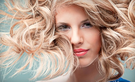 Cut, Blow-Dry, and Conditioning with Optional Partial or Full Highlights at Lush Hair Studio (Up to 56% Off)