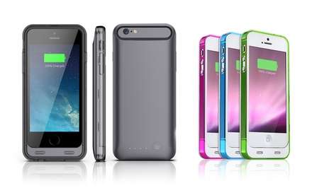 Mota Apple-Certified Extended-Battery Case for iPhone 5/5s or iPhone 6 from $29.99–$31.99