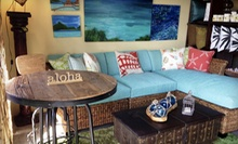 Indonesian Furniture and Decor at Bali Designs (Half Off). Three Options Available.