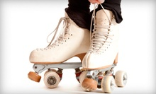 Roller Skating for Two or Four at Paradise Skate Roller Rink (Up to 55% Off)