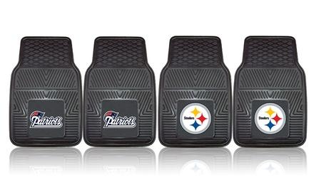 2 NFL Vinyl Car Mats