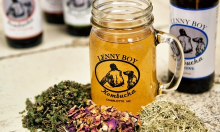 Brewery Package with Beer, Kombucha, and Souvenirs for Two or Four at Lenny Boy Brewing Co. (Up to 39% Off)
