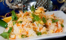 Indian Dinner for Two or Four, or $12 for $25 Worth of Indian Cuisine at Bombay