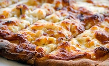 Pizza, Pasta, and Calzones at La Riviera Family Pizza (Half Off). Two Options Available.