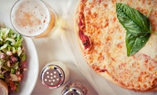 Italian and Greek Food at 4 Brothers Pizza & Mediterranean Restaurants (Half Off). Two Options Available.