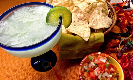 $16 for a Mexican Sampler Platter for Two with Two Margaritas at Real Jalisco ($30 Value)