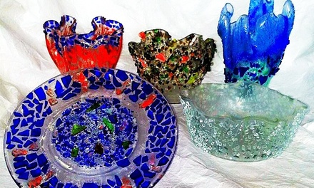 Create-Your-Own-Glass-Art Class for One or Two at DruryDesignArt (Up to 55% Off)