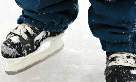 Ice Skating with Skate Rentals for Two or Four at Capital Clubhouse (Up to 45% Off)