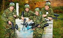Paintball Package for One or Two at Wild Adventure Paintball (Up to 53% Off)