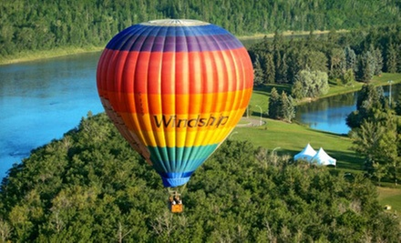 One-Hour Hot Air Balloon Ride for One or Two on a Weekday Morning or Anytime from Windship Aviation (Up to 43% Off)