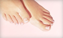 Laser Nail-Fungus Removal for Two Toes on Either Foot or for Five Toes on One Foot at Spa Medica (Up to 77% Off)