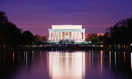 Three-Hour DC at Night or American Spirit Monument Bus Tour for Two from Chariots for Hire (45% Off)