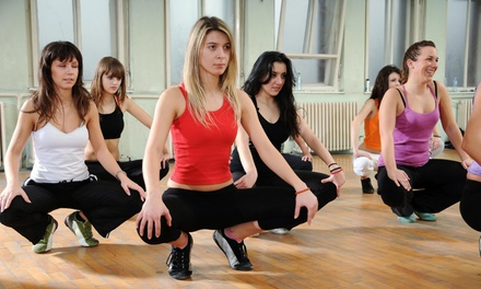 Yoga Classes, Latin Dance Fitness Classes, or Ballroom Dance Classes at The Fix dance Studio (Up to 73% Off )