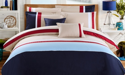 300TC Egyptian Cotton Comforter and Duvet Cover Sets from $69.99–$129.99