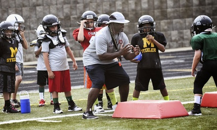 $200 for a One-Week Kids' Football Camp with NFL Play60 and Ex-NFL Player Tim Lester ($300 Value)