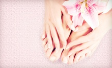 Pedicure with Optional Manicure at Cultured Nails (Up to 53% Off)