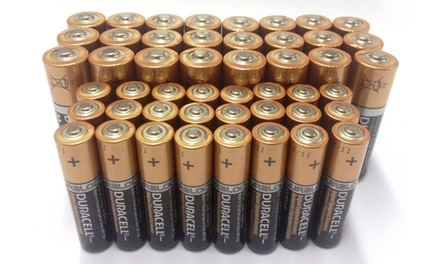 Duracell CopperTop AA and AAA Alkaline Batteries with Duralock Technology (48 Total)