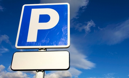 $5 for $10 Worth of Parking Spot Rental from SpotHero
