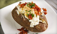 Barbecue Baked Potatoes, Cobbler Desserts, and Drinks for Two, Four, or Six at Stone Mill BBQ and Steakhouse (52% Off)