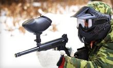 Paintball with Equipment for One or Two at QuickShot Paintball (Up to 56% Off)
