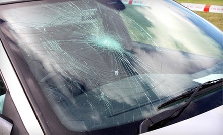Three Windshield-Chip Repairs or $20 for $120 Toward Full Windshield Replacement at Amco Auto Glass