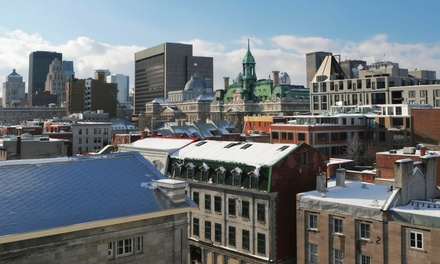 groupon daily deal - 1- or 2-Night Stay for Two at Hotel Quartier des Spectacles in Montreal, Quebec