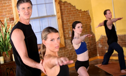 10 or 20 Fitness or Yoga Classes at American Power Yoga (Up to 76% Off)
