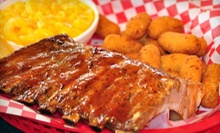 Barbecue at Farmer's BBQ (Half Off). Three Options Available.