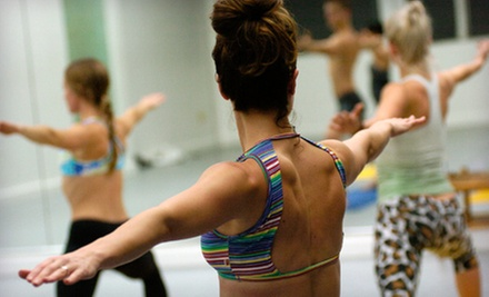 One Month of Unlimited Classes or 10 or 20 Classes at Breathe Hot Yoga (Up to 78% Off)
