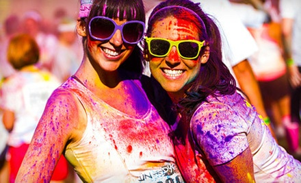 5K Race Entry for One or Two at Run or Dye (Up to 53% Off)
