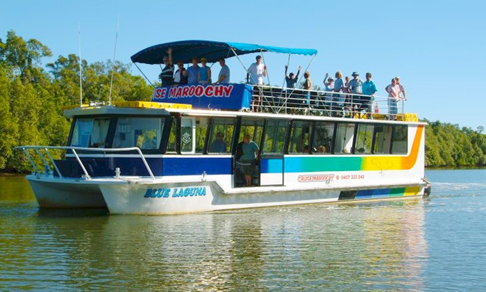Cruise Maroochy Eco Tours - Maroochydore: Sunday Afternoon River Cruise with Lunch - Child ($19) or Adult ($29) with Cruise Maroochy Eco Tours (Up to $65 Value)